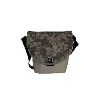 Hibiscus Pareau Hawaiian Mini Messenger Bag