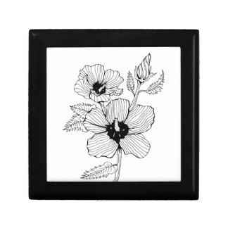Hibiscus Rose of Sharon Flower Gift Box