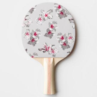 Hibiskus Ping Pong Paddle