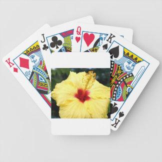 Hibiuscus Poker Deck