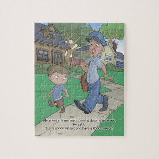 Hiccup Book puzzle - The Mailman - 8x10 (110 pc)