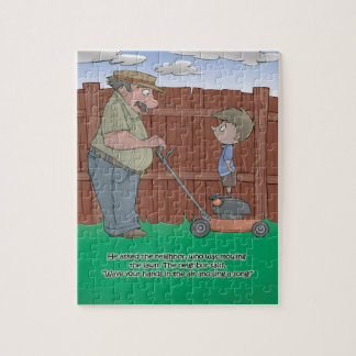 Hiccup Book puzzle - The Neighbor - 8x10 (110 pc)