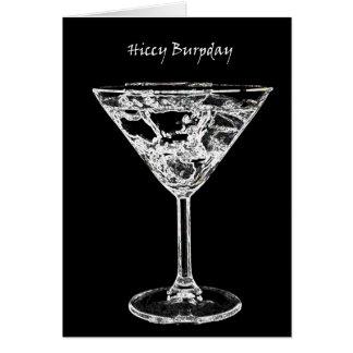 Hiccy Burpday / Happy Birthday Card