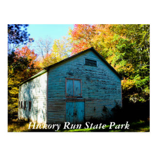 Hickory Run State Park Postcard
