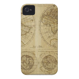 Hictoric World Maps - old World Maps iPhone 4 Cover