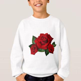 HiD Hi-DEF Red Roses Sweatshirt