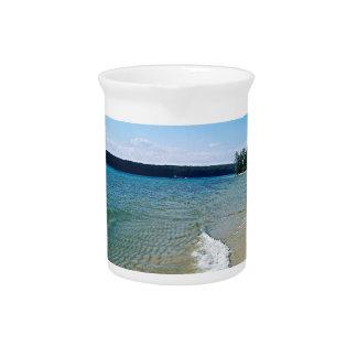 Hidden beach pitcher