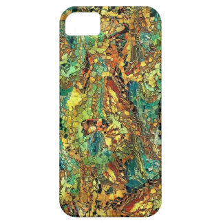 Hidden figures by rafi talby iPhone 5 case