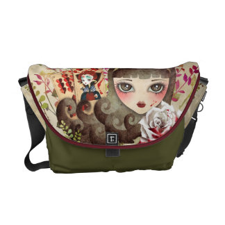 Hidden Garden Messenger Bag