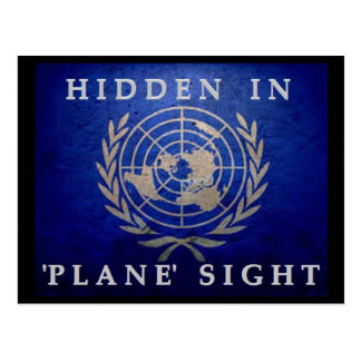 Hidden In 'Plane' Sight Postcard