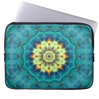 Hidden Lotus Mandala Computer Sleeve