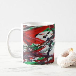 Hidden of faces coffee mug