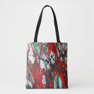 Hidden of faces tote bag