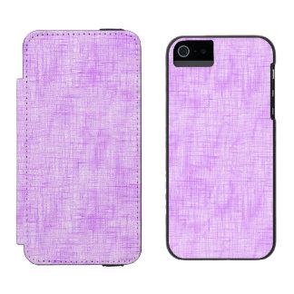 Hidden Pain in Purple Incipio Watson™ iPhone 5 Wallet Case