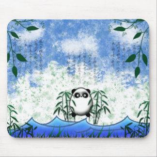 Hidden panda mouse pad