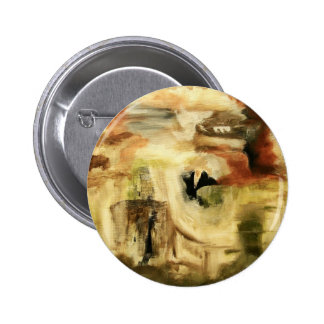 Hidden Places From Original Art Painting 6 Cm Round Badge