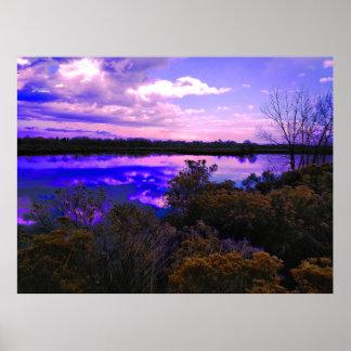 Hidden Pond Poster