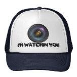 Hidden secret camera lens cap