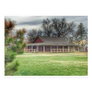 Hidden Springs Barn Post Card