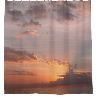 Hidden Sunset in Jamaica Shower Curtain