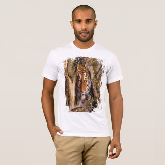 Hidden Tiger! (Grungy Look) T-Shirt