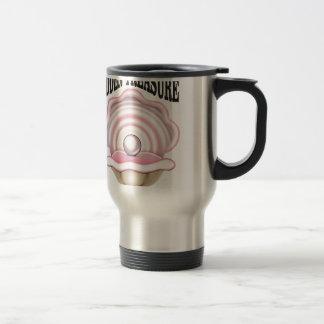 hidden treasure clam travel mug