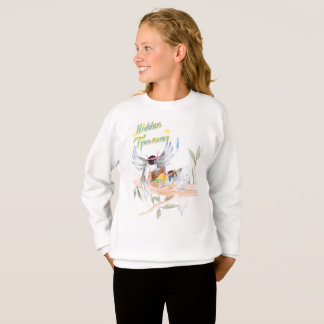 """Hidden Treasures"" Girls' Sweatshirt"