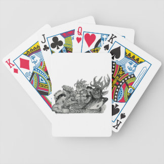 Hidden Wallow Hot Tub Bicycle Playing Cards