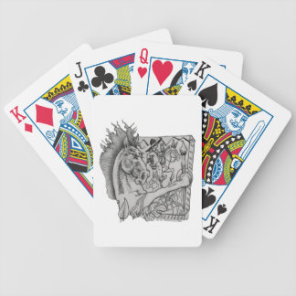 Hidden Wallow Ringo The Horse Bicycle Playing Cards