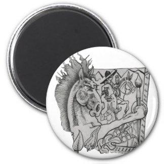 Hidden Wallow Ringo The Horse Magnet
