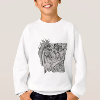 Hidden Wallow Ringo The Horse Sweatshirt
