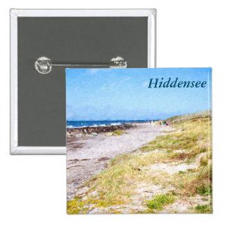 Hiddensee 15 Cm Square Badge
