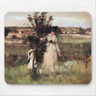 Hide-and-seek by Berthe Morisot Mousepad