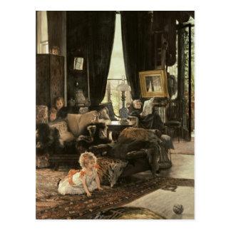 Hide and Seek, c.1880-82 Postcard