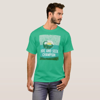 Hide and Seek Champion Nessie Lochness Monster T-Shirt