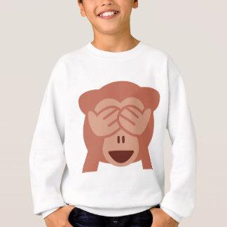 Hide and seek Emoji Monkey Sweatshirt