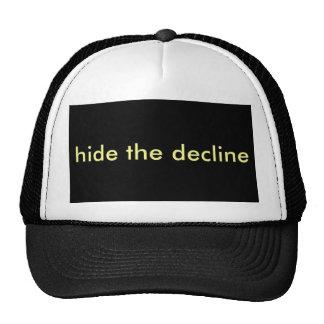 hide the decline cap