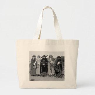 Hide Your Pets: 1923 Jumbo Tote Bag