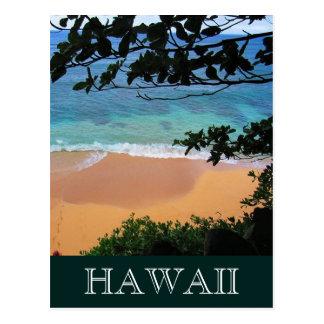 hideaways beach hawaii postcard