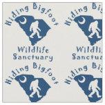 Hiding Bigfoot Wildlife Sanctuary Fabric