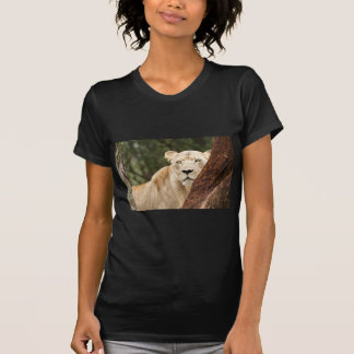 Hiding Lioness T Shirts
