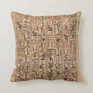 hieroglyph Pillow