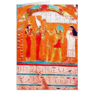 Hieroglyphs Card