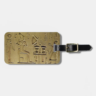 Hieroglyphs Luggage Tag