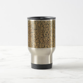 Hieroglyphs Travel Mug