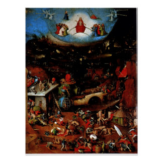 Hieronymous Bosch's The Last Judgement Poster