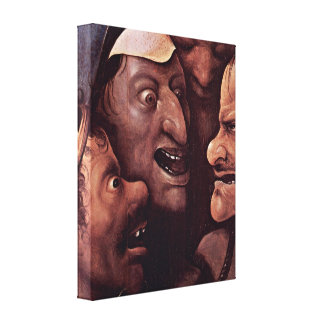 Hieronymus Bosch - Christ Carrying the Cross Stretched Canvas Prints