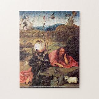 Hieronymus Bosch - Meditator St John the Baptist Jigsaw Puzzle