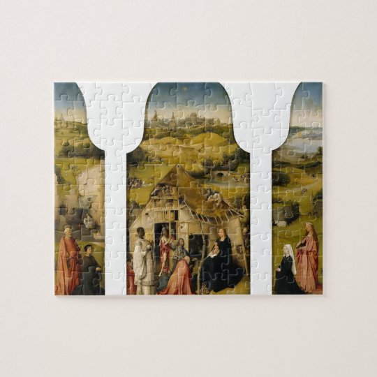 Hieronymus Bosch- The Adoration of the Magi Jigsaw Puzzle