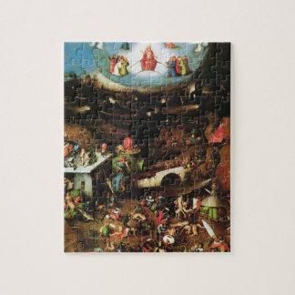 Hieronymus Bosch- The Last Judgement (detail) Jigsaw Puzzle